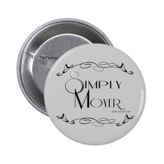 Simplement bouton de logo de Moyer Badge