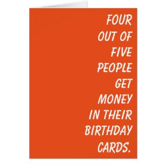 Simplement une carte d'anniversaire avec une