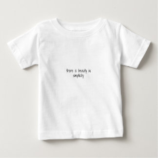 Simplicity Baby T-Shirt