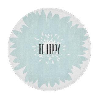 Simplicity Blue Flower Cutting Board