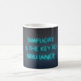 Simplicity Is The Key to Brilliance Mug