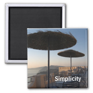 Simplicity Magnet