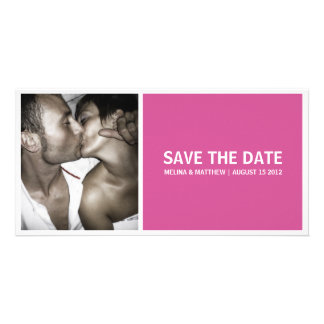 SIMPLICITY | SAVE THE DATE ANNOUNCEMENTS PHOTO CARD TEMPLATE