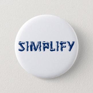 Simplify 2 Inch Round Button