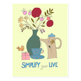 Simplify your live postcard
