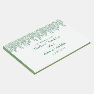 Simplistic Climbing Vines Greenery Guest Book