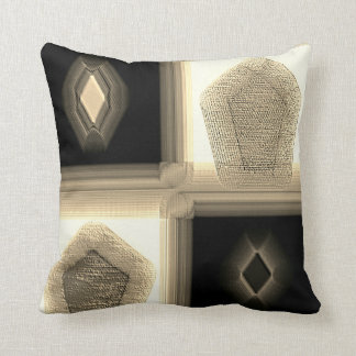 """Simplistic in Neutral""  Polyester Throw Pillow"