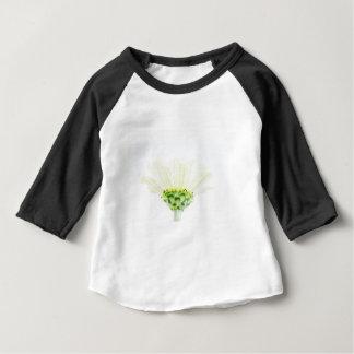 Simplistic White Zinnia Baby T-Shirt