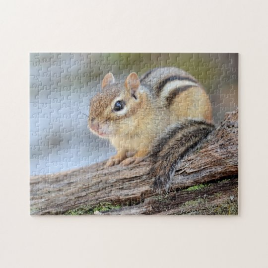 Simply Adorable Little Chipmunk Jigsaw Puzzle