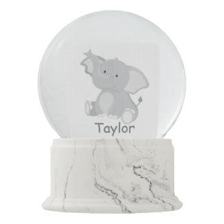 Simply Adorbs Baby Elephant Snow Globe