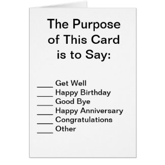 Simply Awesome Greeting Card