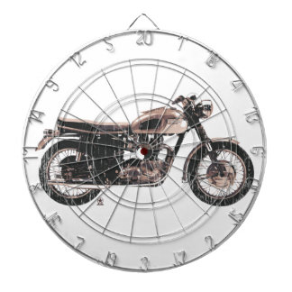 Simply Beautiful Classic Motorcycle Dartboard
