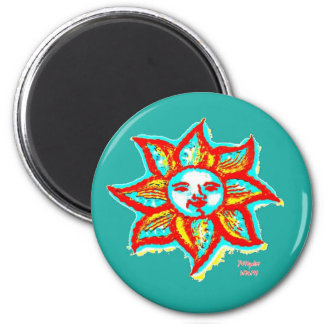 Simply Bright Sun Magnet