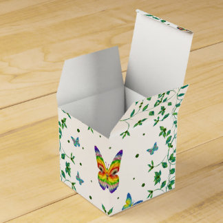 Simply Butterfly Wedding Favor Box