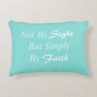 Simply By Faith Accent Pillow