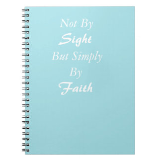 Simply By Faith Notebook