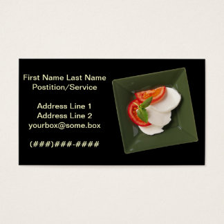 Simply Catering Business Card