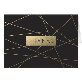 Simply Chic Thank You Notecard