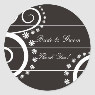 Simply Chic Wedding Stickers