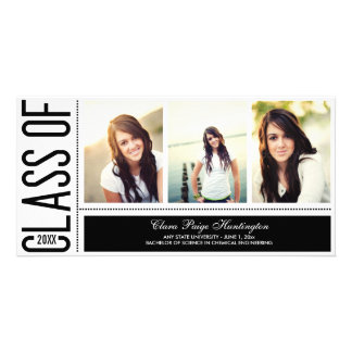 Simply Cool Graduation Announcement Card