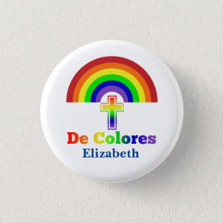 Simply De Colores 1 Inch Round Button