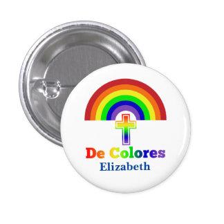 Simply De Colores 1 Inch Round Button