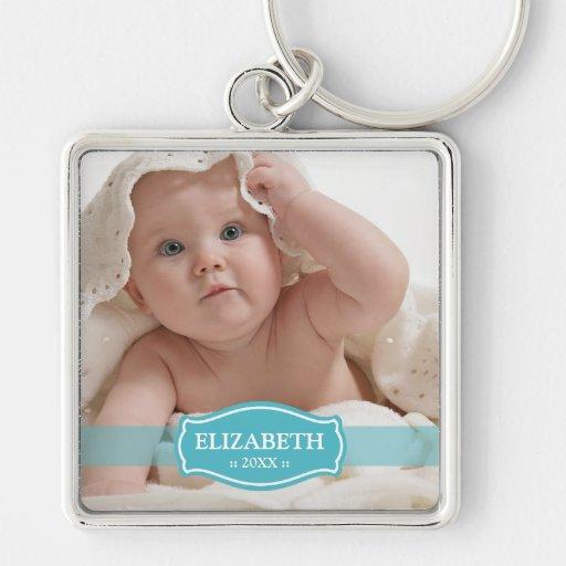 Simply Elegant Mommy's Keychain (aqua)