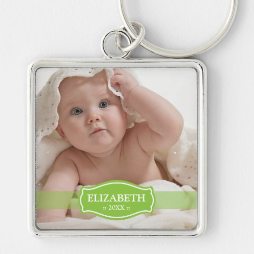 Simply Elegant Mommy's Keychain (green)