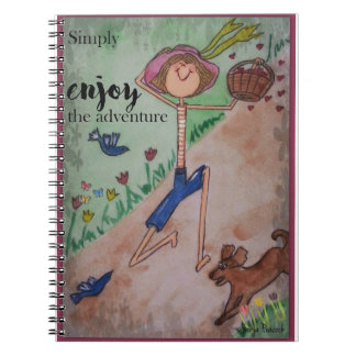 Simply enjoy the adventure notebooks