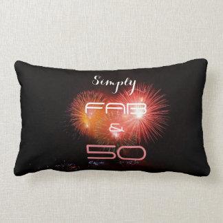 Simply FAB & 50 - Lumbar Pillow