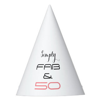 Simply Fab & 50 - Party Hat