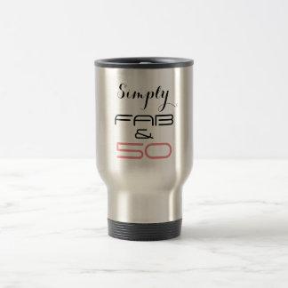 Simply Fab & 50 - Travel Mug