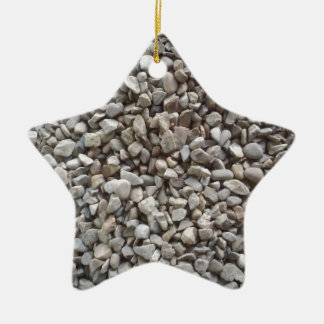 Simply Gravel Ceramic Star Ornament