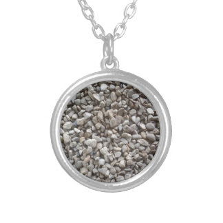 Simply Gravel Silver Plated Necklace