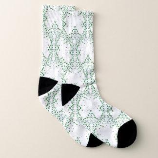 Simply Green Butterfly Socks