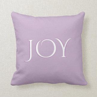 Simply Joy Purple Lilac Throw Pillow