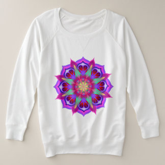Simply Love 4 Mandala Plus Size Sweatshirt