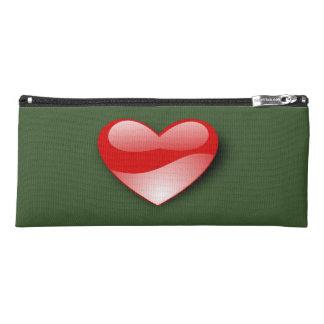 Simply love heart pencil case