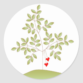 Simply Love Tree Classic Round Sticker