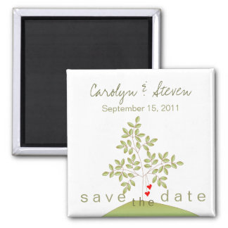 Simply Love Tree - Save the Date Magnet