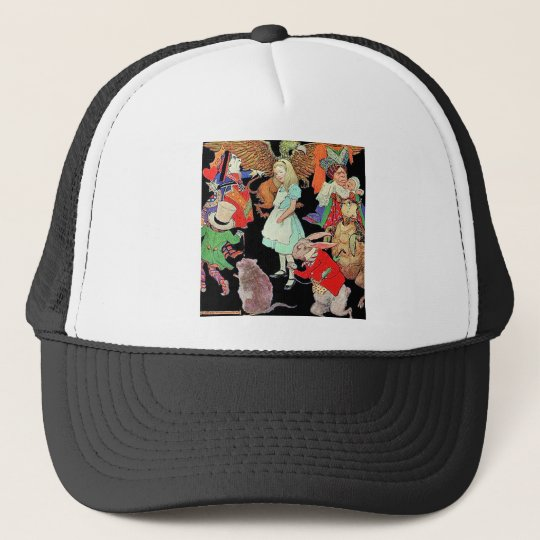 Simply, Madly Alice Trucker Hat
