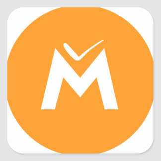 Simply MUE Square Sticker