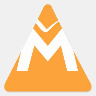 Simply MUE Triangle Sticker