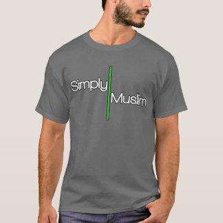 Simply Muslim-Grey/Green T-Shirt