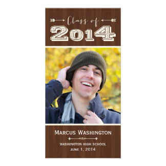 Simply Natural Graduation Announcement Photo Card