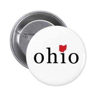 Simply Ohio 2 Inch Round Button