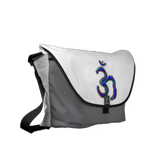 Simply OM MANTRA Symbol Courier Bag
