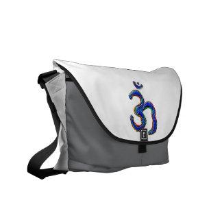 Simply OM MANTRA Symbol Courier Bag