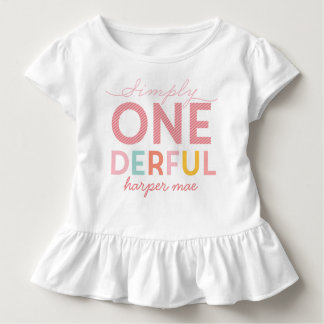SIMPLY ONEDERFUL WONDERFUL TODDLER T-SHIRT