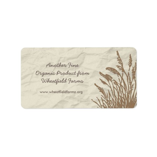 Simply Organic Business Product Label